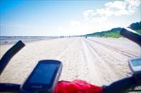 Доооолгое и приятное побережье Юрмалы...