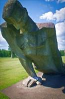 Мемориальный комплекс на месте концлагеря Саласпилс