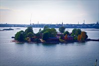 Паром Таллин - Хельсинки. Острова у Хельсинки