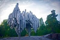 Хельсинки. Памятник Сибелиусу
