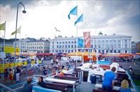 Хельсинки. Рыночная площадь. На катере в крепость Свеаборг