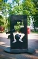 Памятник Мюнхаузену в калининградском парке культуры и отдыха.