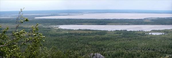 Северная часть озера Варчаты