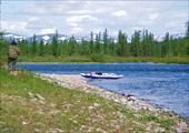 Река Танью в районе впадения р. Элькошор