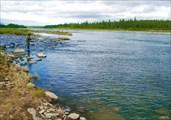 Рыбалка на правом притоке Лагорты
