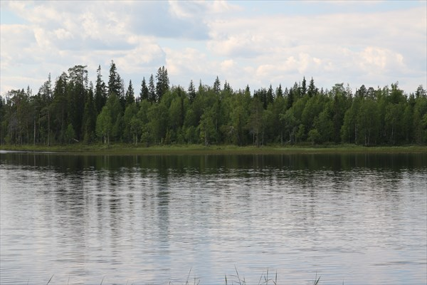 Еще одно из многочисленных озер