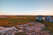 Наш лагерь на Белом море
