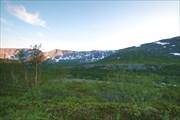 По дороге вдоль р. Поачвумйок