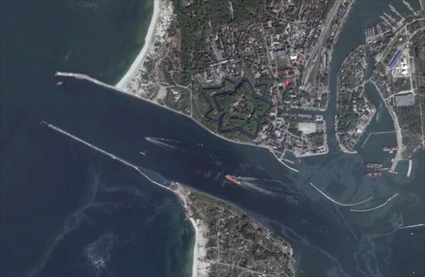пролив в Балтийске