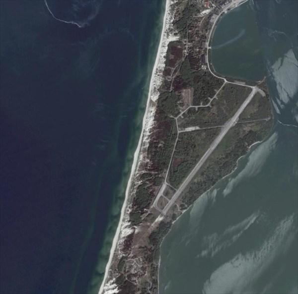 Бывший аэродром на Балтийской косе