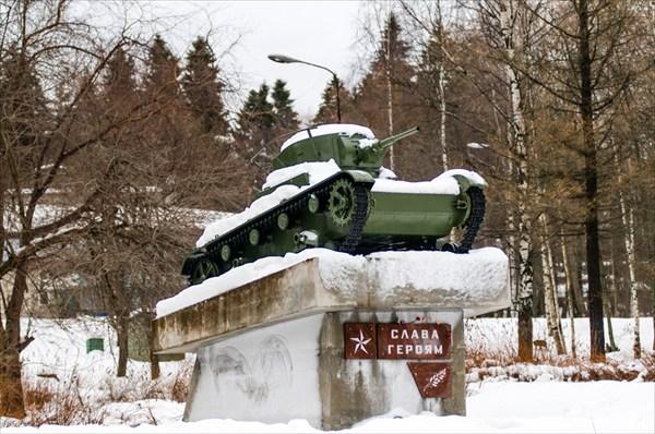 Участник Советско-Финской войны Т-26