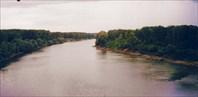 Мост через Дунай. Болгарско - румынская граница
