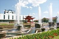 Kizil-город Кызыл
