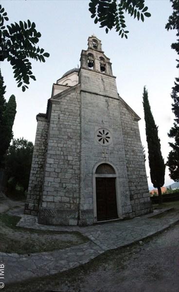 Церковь св.Василия. Местечко Кумбор