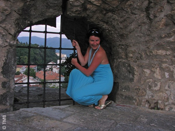 В крепости Херцег-Нови