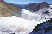 Ледник Менсу с Бийчанки
