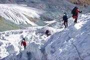 На ледопаде Менсу