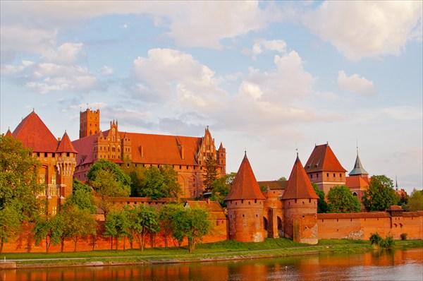 Мальборк. Замок Тевтонского ордена.