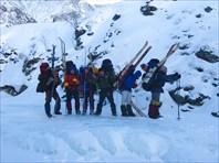 Лыжи 4 к.с. Тункинские гольцы - февраль 2008г.