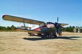 Этот самолет отлично приземляется на песок )