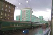 Дождливый вечер. Вокзал Новосибирск-Главный