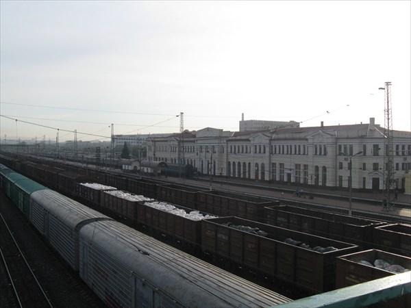 Московский ЖД вокзал Тулы