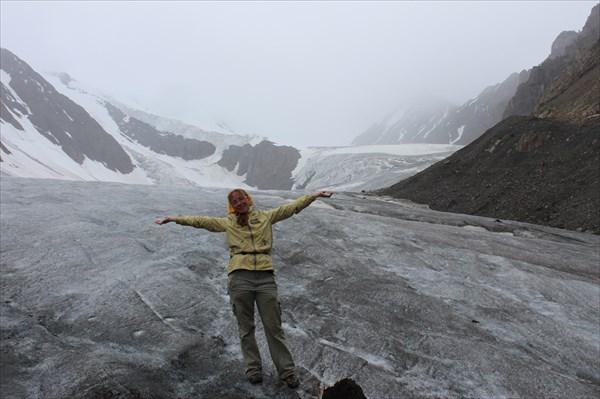 Ледник Большой Актру.