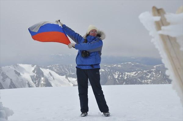 Вершина Монгун-Тайги