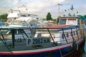 Наше судно в Новосибирске на стоянке