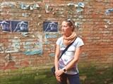 Типичная стена в Катманду