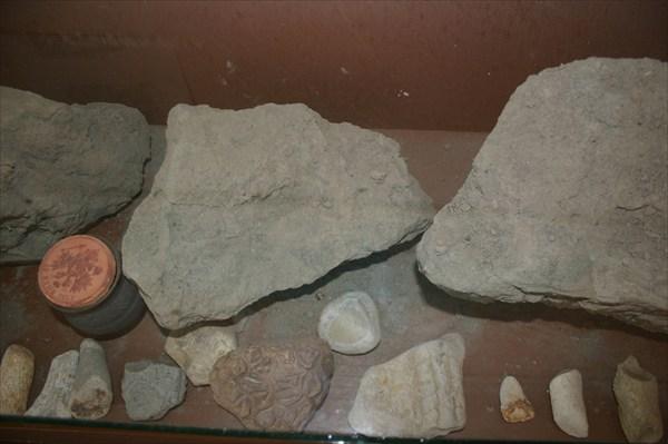 глауконит - порода, содержащая янтарь