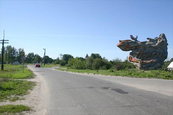 Мы покидаем поселок Янтарный