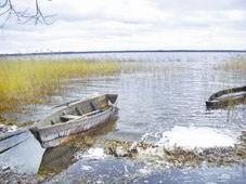 на фото: озеро Шо