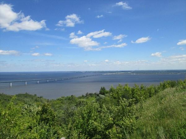 Вид на Президентский мост