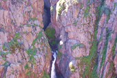 Второй водопад с гребня