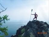 Лёня на острове Богучанский