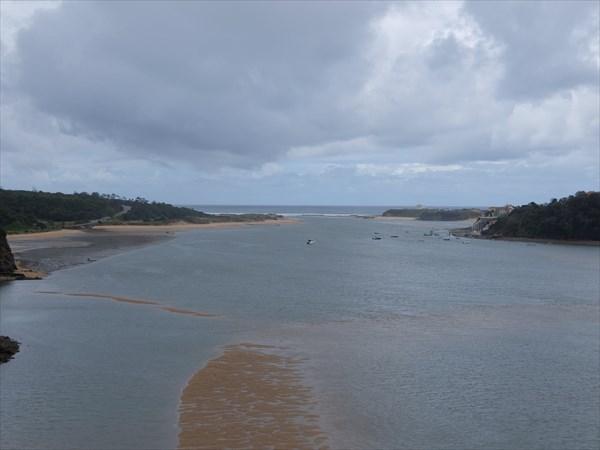 Река Мира впадает в Атлантику