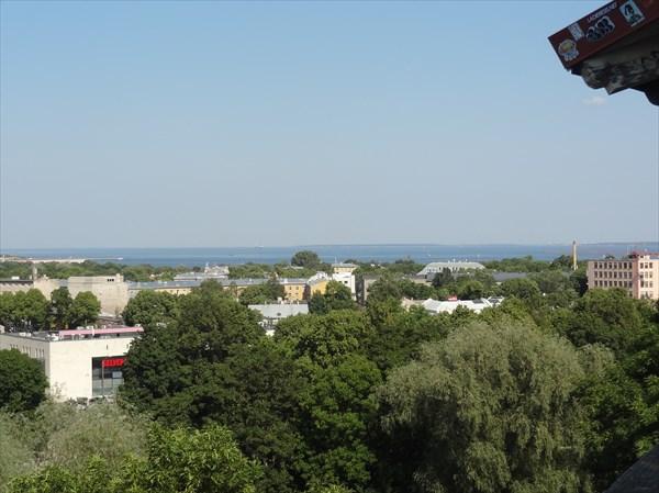 Панорама Таллина.