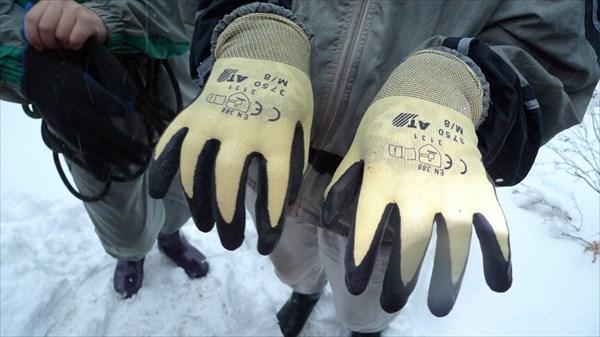 Светины новые перчатки (хороши оказались в итоге)!