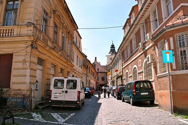 улицы Брашова