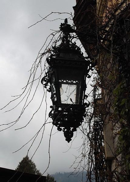 замок Пелеш, фонарь