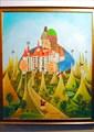 картины в замке Бран