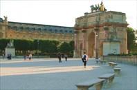 Арка напротив Лувра