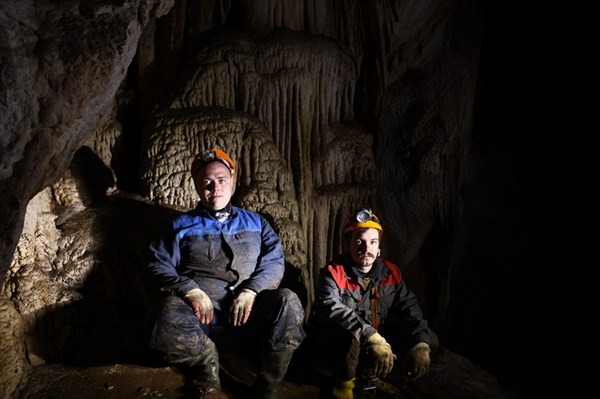 В пещере Кастере