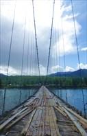 Мост в Тюнгуре