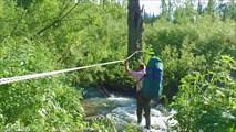 Переход через ручей Крутой