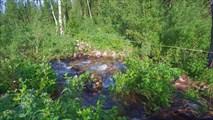 Переправа через ручей Крутой
