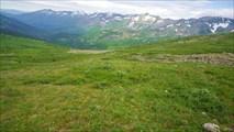 Вид на долину Малого Казыра и хребет Тигер-Тыш