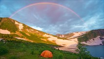 Радуга над Караташским перевалом