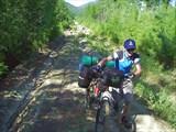 Фото 7. Самое начало подъема на Срамной перевал